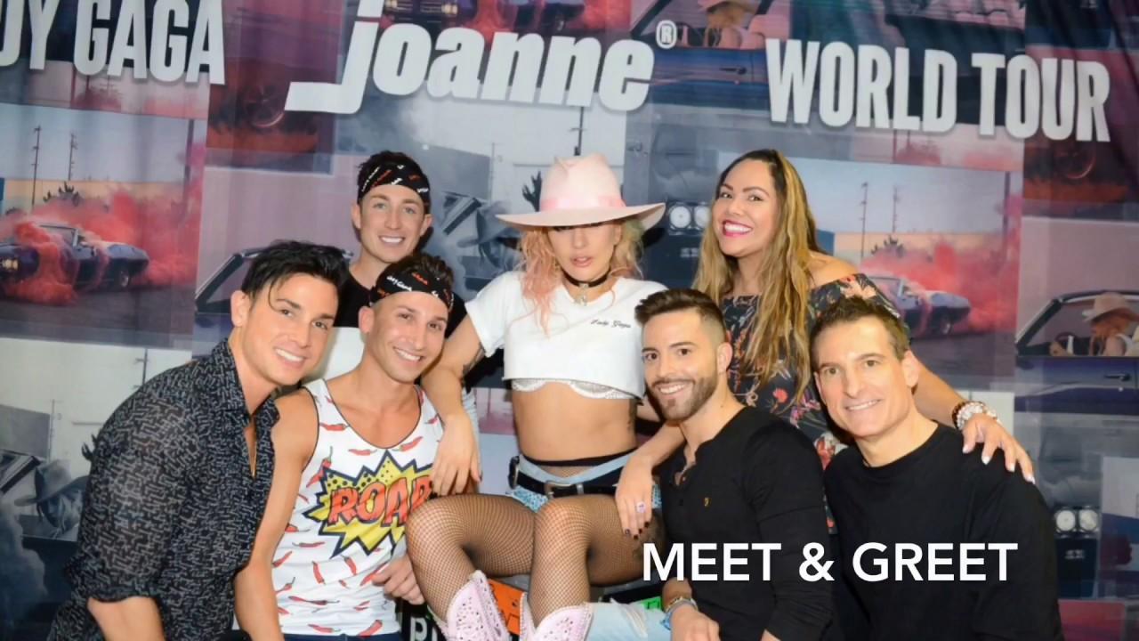 Lady Gaga Concert And Meet Greet Miami Becky Boricua Youtube