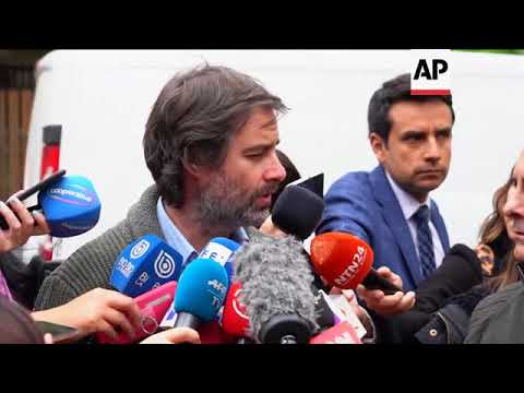 Chilean victim reacts to Pope defrocking of priest at center of abuse scandal