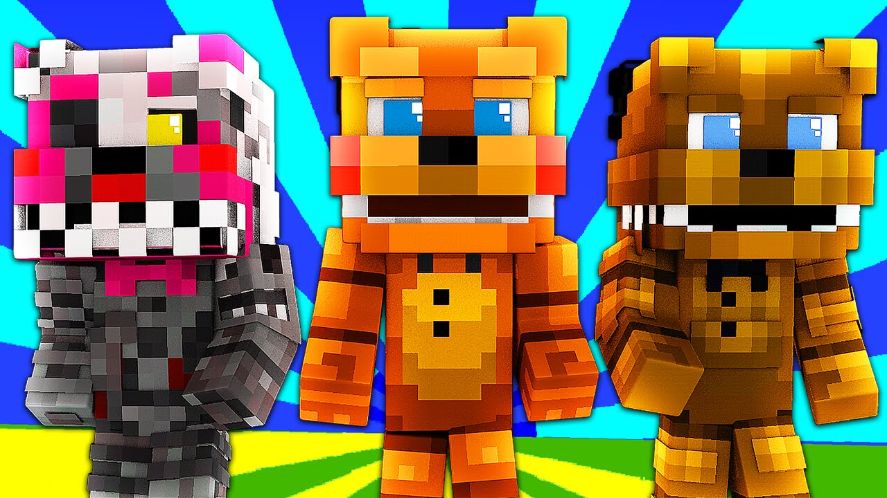 Minecraft Toy Freddy : Fnaf world toy freddy minecraft roleplay night