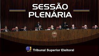 Assista a íntegra da sessão de julgamentos do Tribunal Superior Eleitoral realizada no dia 20 de setembro de 2018.
