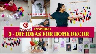 HOME DECOR - EASY DIY IDEAS : PINTEREST INSPIRED | RAKHI SINGH