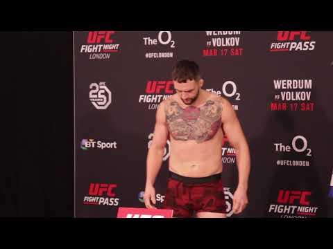 UFC London: SBG Ireland Fighters Weigh In