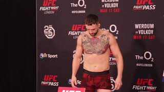UFC London: SBG Ireland Fighters Weigh In