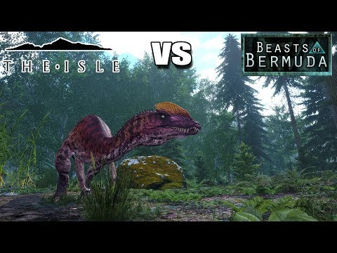 WHICH IS THE BETTER DINOSAUR GAME?? THE ISLE VS BEASTS OF BERMUDA