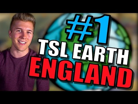 Civilization 6: England Gameplay [Civ 6 Earth Map Mod TSL] Let's Play w/16 Civs - Part 1