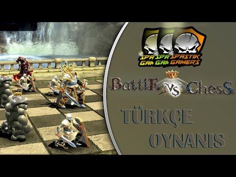 Battle Vs Chess : Türkçe / Satranç Savaşları!