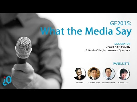 [debateIQ 15] GE2015 Exclusive: What the Media Say?