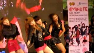 (FANCAM) 4Minute - Hot Issue LIVE @ SM Mega Mall, Philippines