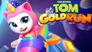 Talking Tom Corrida do Ouro com a Angela Unicórnio em HD