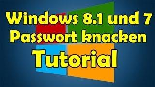 Windows 10/8/8.1 und 7 Passwort knacken Tutorial [HD]