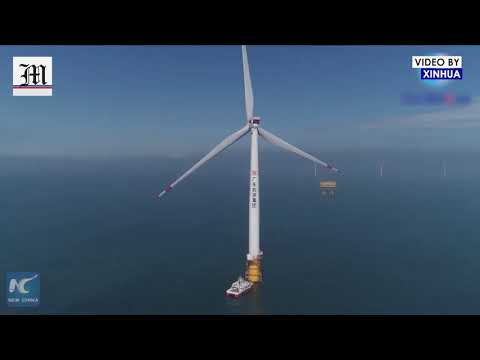 Large Offshore Wind Farm in Greater Bay Area Gets Grid-connected