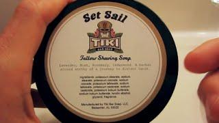 Tiki Shaving Soap - Lather Review