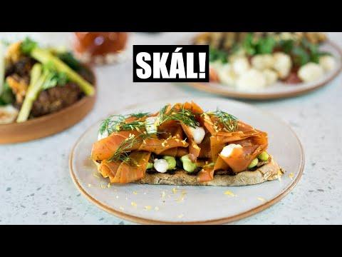 Vegetables Are Gold at Restaurant Skál in Reykjavik, Iceland