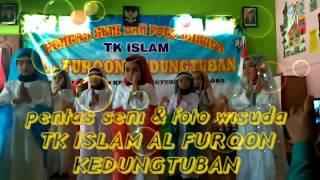 Tarian kun anta anak TK ISLAM AL FURQON KEDUNGTUBAN