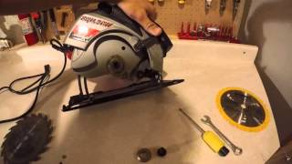 How to change a Skill Saw blade