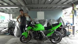 カワサキZ1000参考動画:ストリートファイターとは何かについて