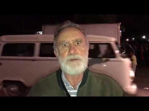 Doutor Rosinha denuncia agressão no acampamento Lula Livre, em Curitiba