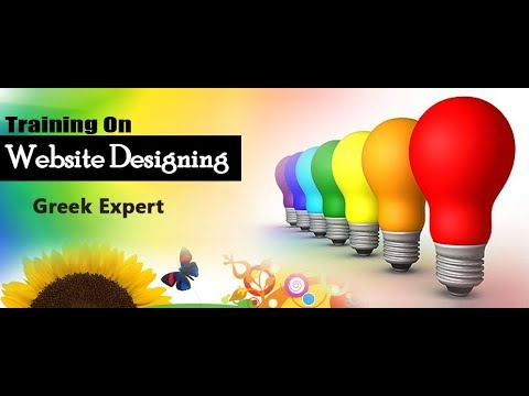 web designing  course in urdu 2018 by Greek expert