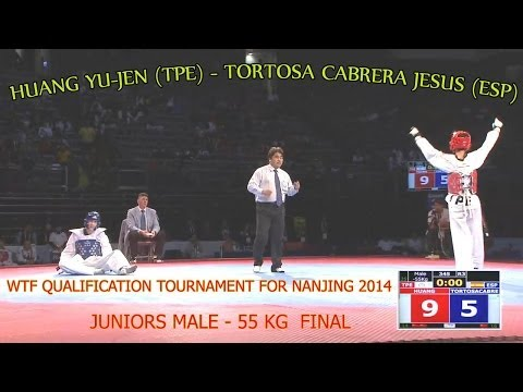 Huang Yu-Jen (TPE) - Tortosa Cabrera Jesus (ESP) Juniors Male 55 kg Final