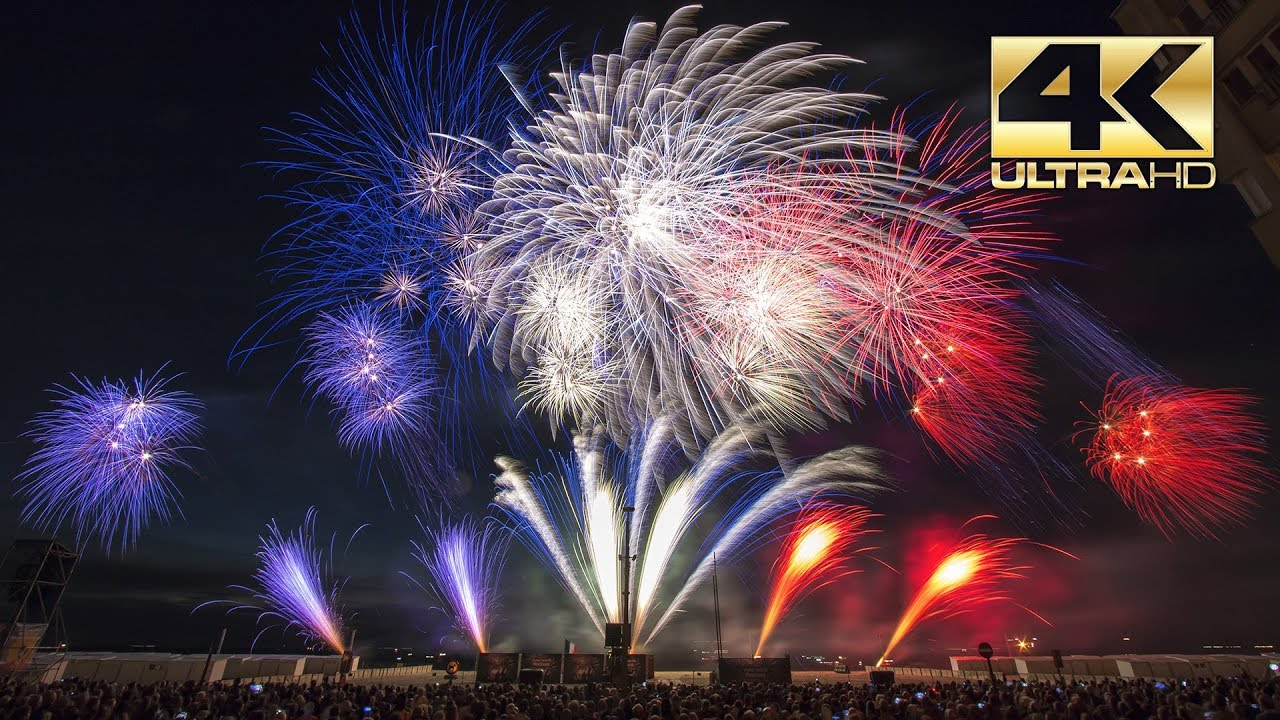 ⁴ᴷ Int Fireworks Festival Knokke Heist 2018 Fantasias France