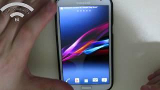 Revisión Xperia-z-ized Custom Rom Galaxy Note 2 (GT-N7100)