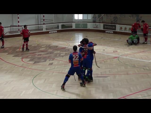 Hóquei FC Alverca vs Estremoz - Resumo do jogo