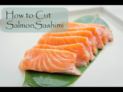 How to Cut Salmon for Sashimi and Nigiri | Fish for Sushi - YouTube ...