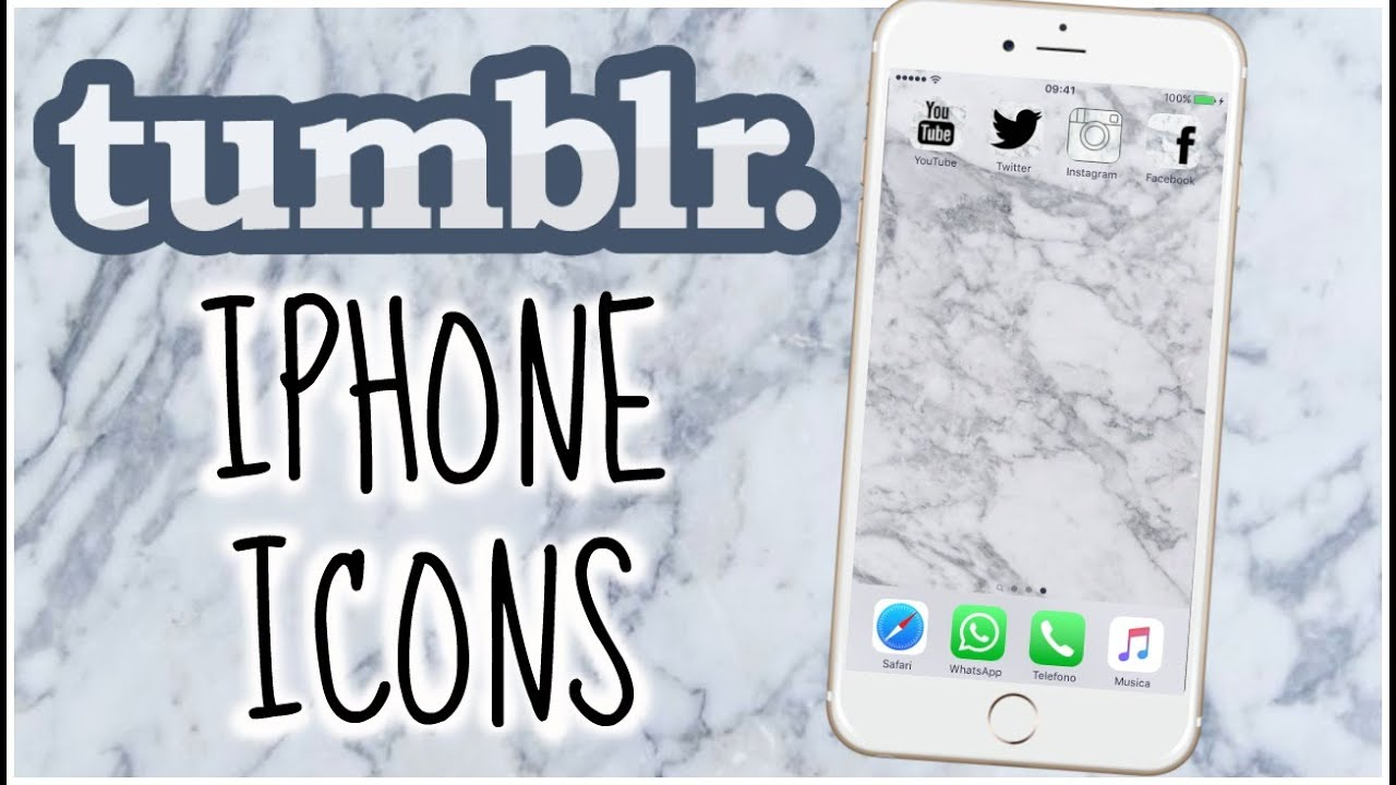 Tumblr Icons How To Have Tumblr Icons On Your Iphone -8019