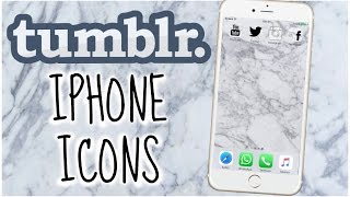 TUMBLR ICONS: How To Have Tumblr Icons On Your Iphone