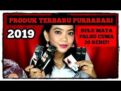 BULU MATA PALSU PURBASARI?? || PRODUK TERBARU PURBASARI 2019 (PENSIL ALIS, EYELINER, LIP SHIMMER)