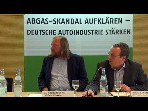 Fachgespräch: Den Abgas-Skandal aufklären - die deutsche Autoindustrie stärken