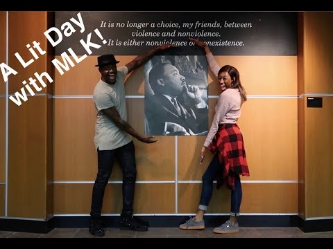A DAY WITH MARTIN LUTHER KING JR!! - VLOG