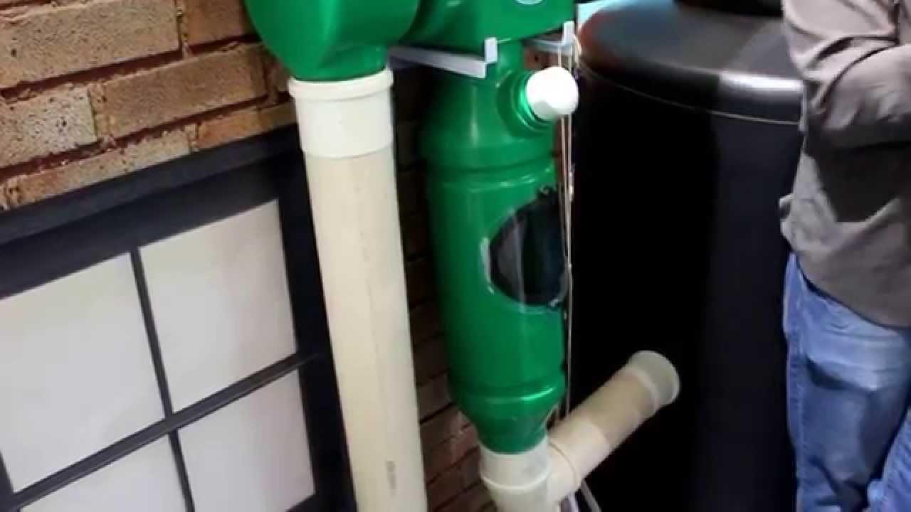 7d20f42b8 Filtro para sistema de capatação de água de chuva -Expo arquitetura  sustentável parte 05 - YouTube