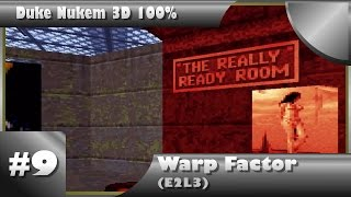 Duke Nukem 3D 100% Walkthrough: Warp Factor (E2L3) [All Secrets]