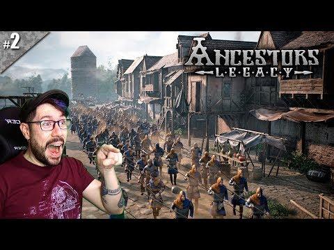 ⚔️ EMBOSCADA! | ANCESTORS LEGACY #02 | Gameplay español