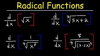 Derivatives of Radical Functions