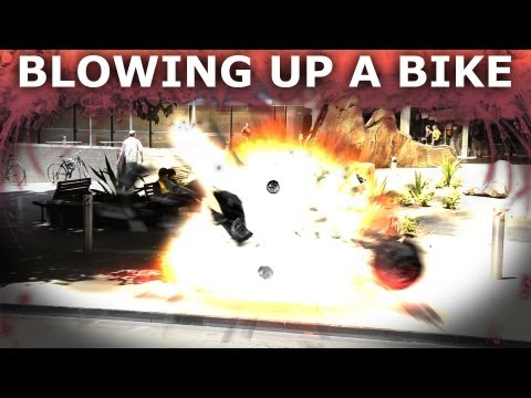 How To Blow Up A Motorbike - Adobe After Effects VFX Explosion