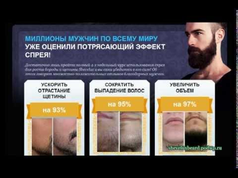 Спрей для бороды Shevelux : как отрастить бороду быстро? Купить спрей для роста бороды Shevelux