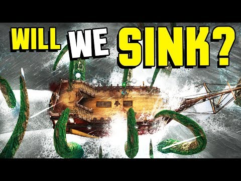 Abandon Ship - WILL OUR SHIP SINK!? Become a Pirate & Manage a Crew! (Abandon Ship Gameplay)