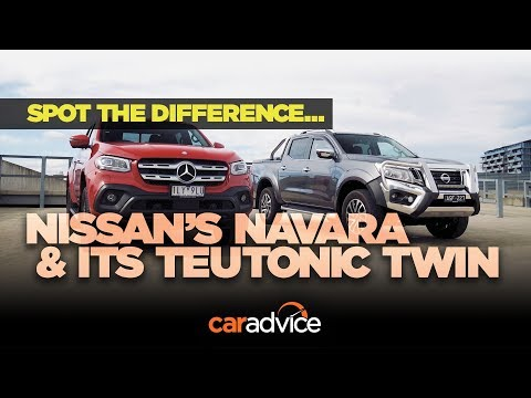 Mercedes-Benz X-Class and Nissan Navara: 5 differences