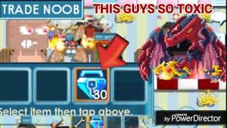 Don't Judge Noob! ( NOOB SHOWED 30 BLUE GEM LOCK! ) OMG!! - Growtopia