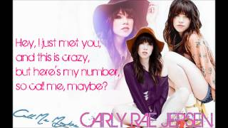 Carly Rae Jepsen - Call Me Maybe Karaoke/Instrumental