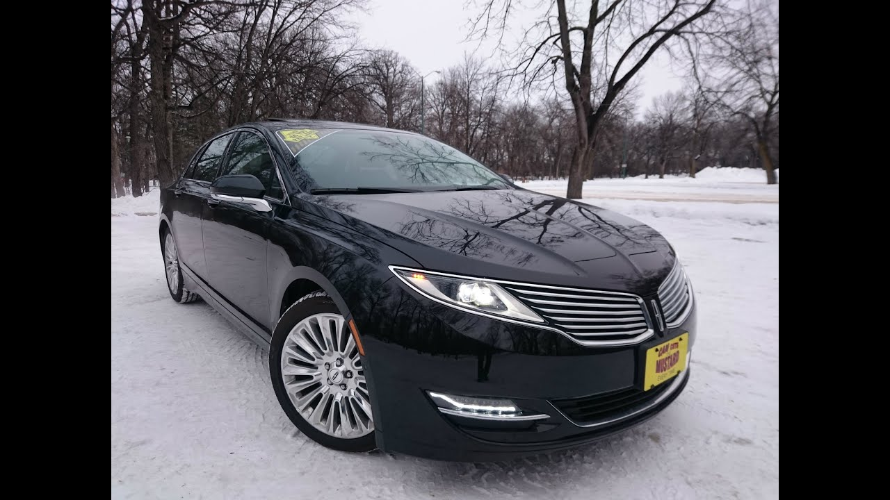 2015 Lincoln Mkz 3 7l Awd Full Review Start Up And
