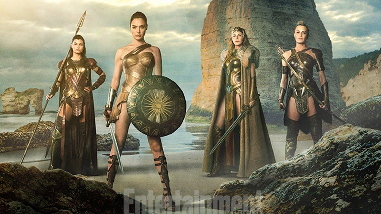 Amazon Warriors Fotos robin wright and amazon warriors in wonder woman - collider