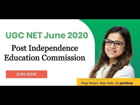 Post independence Education Commission for UGC NET June 2020 | Gradeup