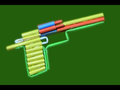 How to Make a Paper Revolver that Shoots -...