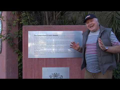 Chuck Feeney Queensland Great 2019, joins Kenny Fletcher in the Brisbane Tennis Trail