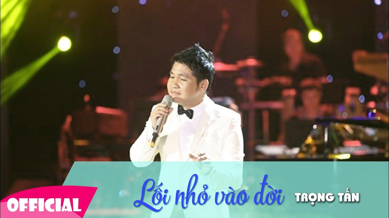 Lối Nhỏ Vào Đời [KARAOKE +Lyrics] | Liveshow Trọng Tấn