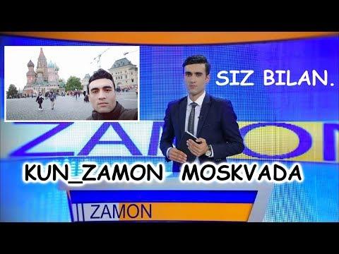 KUN_ZAMON Muxbiri Nodirbek Jurnalist Endi Moskvada Sizlarni Dardingiz Bilan.....