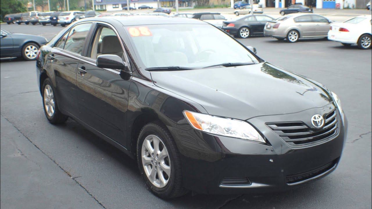 maxresdefault Wonderful toyota Camry 2008 Le Tire Size Cars Trend